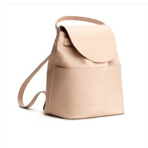 Cuyana blush backpack